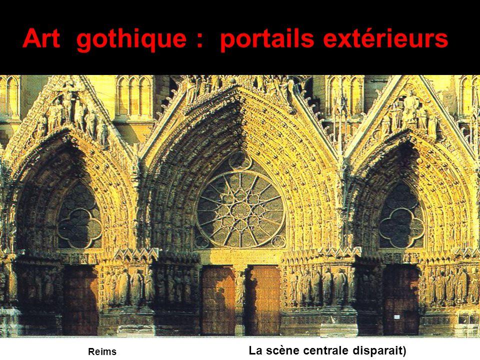Art gothique : portails extérieurs