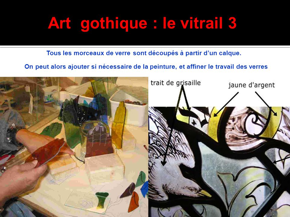Art gothique : le vitrail 3