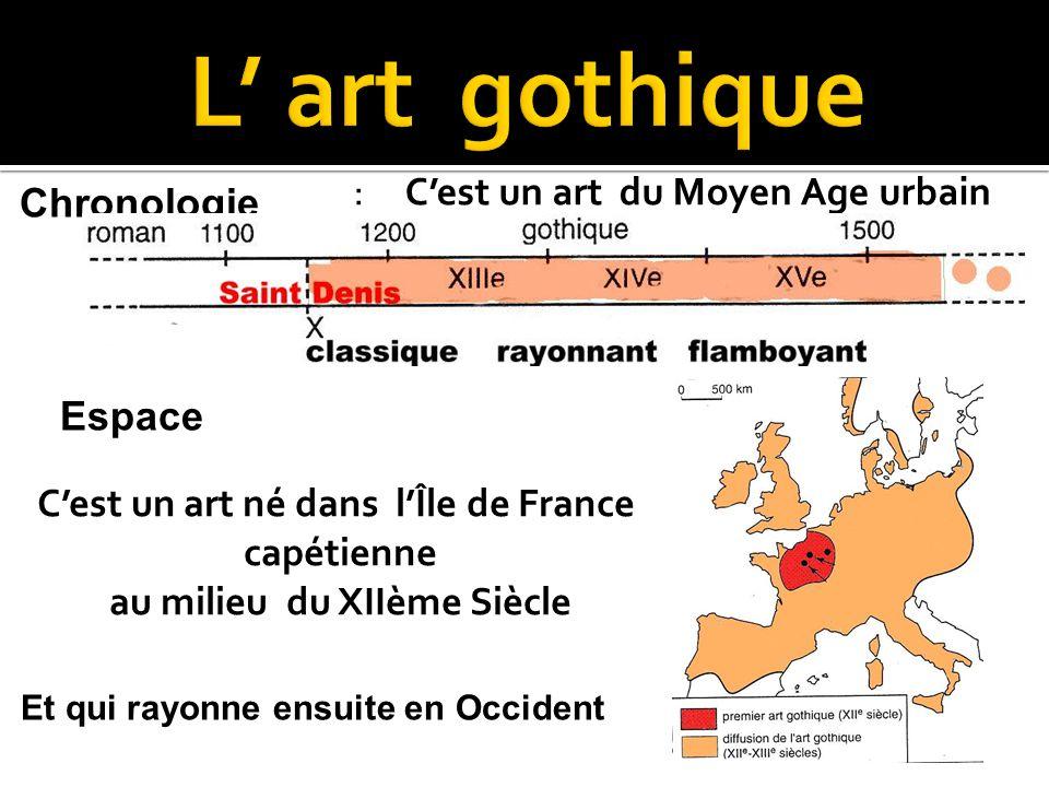 C'est un art né dans l'Île de France au milieu du XIIème Siècle