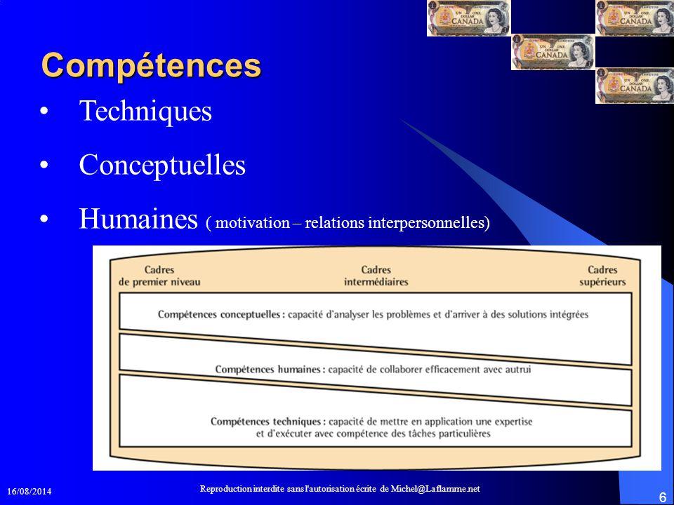 Compétences Techniques Conceptuelles