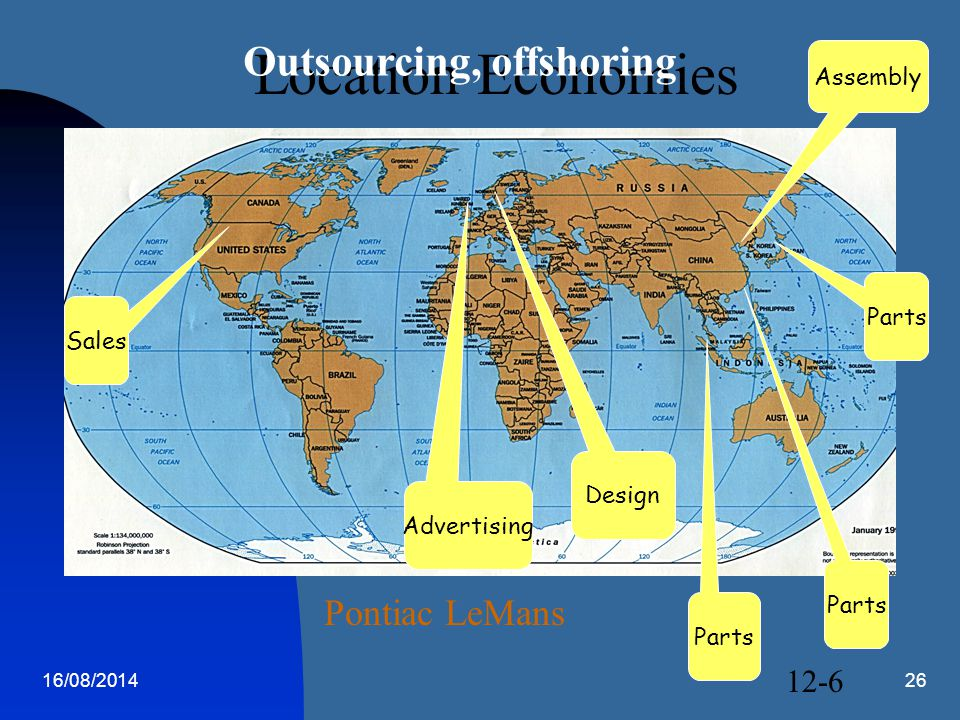 Outsourcing, offshoring