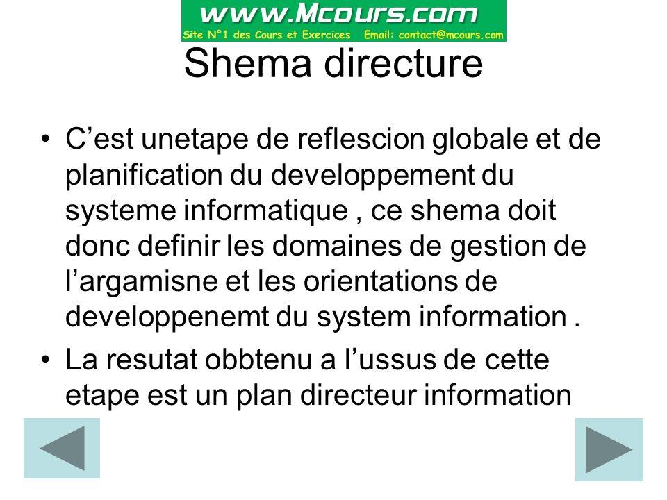 Shema directure