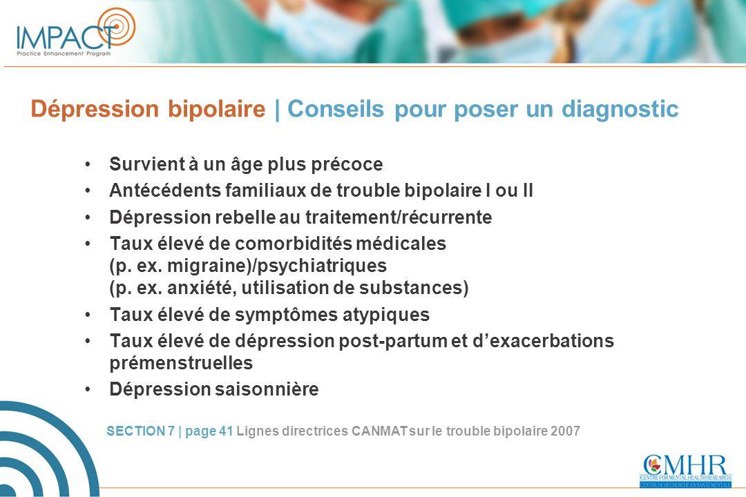 Dépression bipolaire | Conseils pour poser un diagnostic