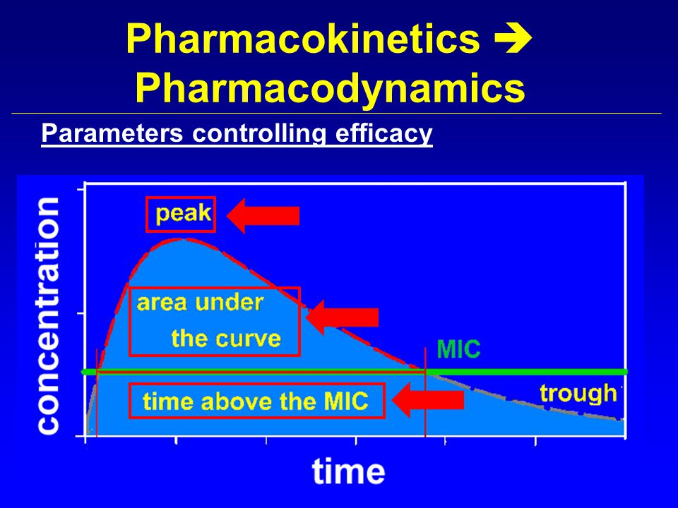 Pharmacokinetics  Pharmacodynamics