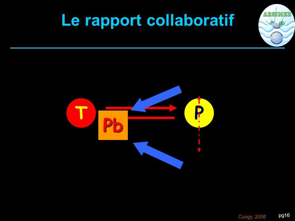 Le rapport collaboratif