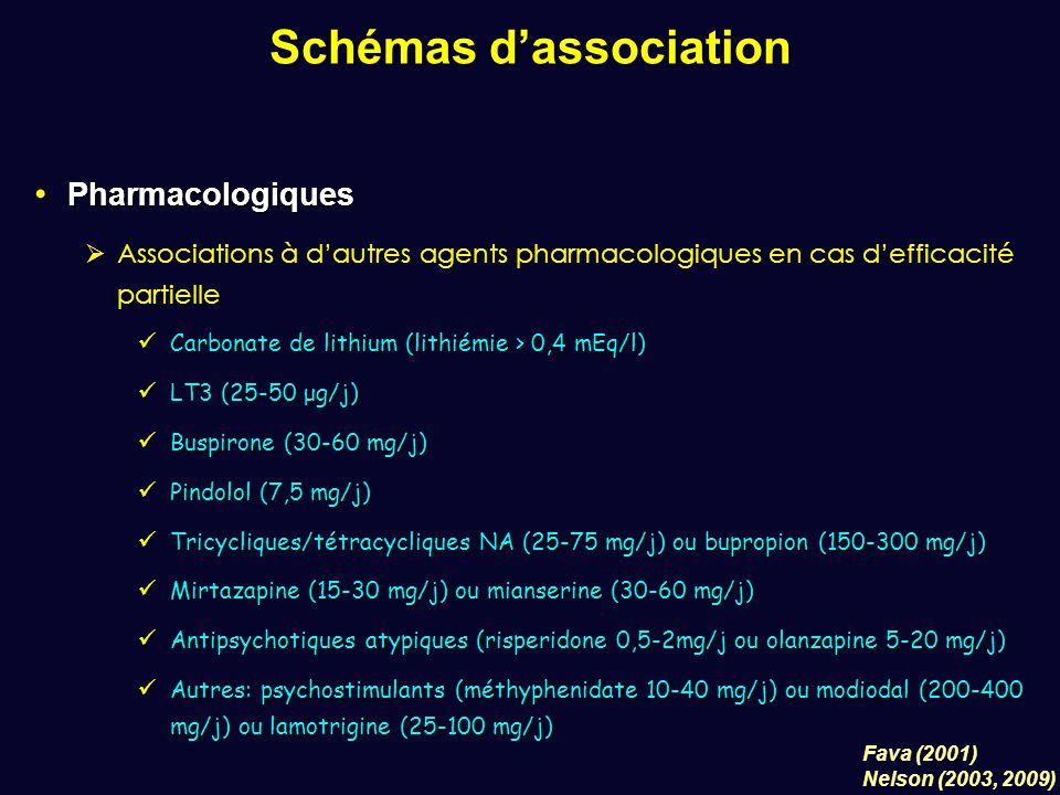 Schémas d'association