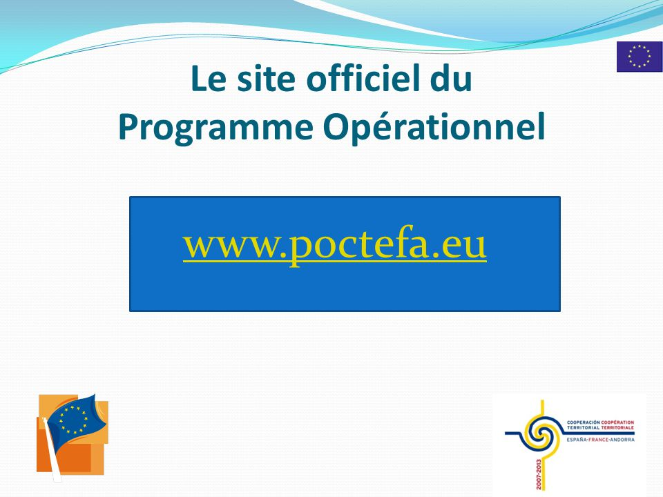 Le site officiel du Programme Opérationnel