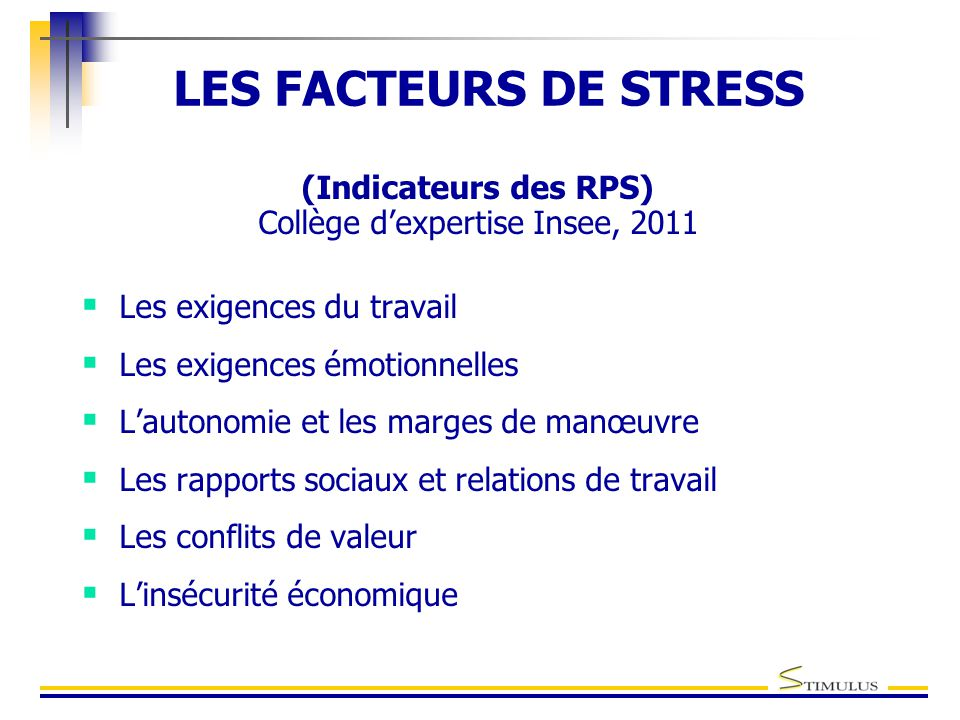 Collège d'expertise Insee, 2011