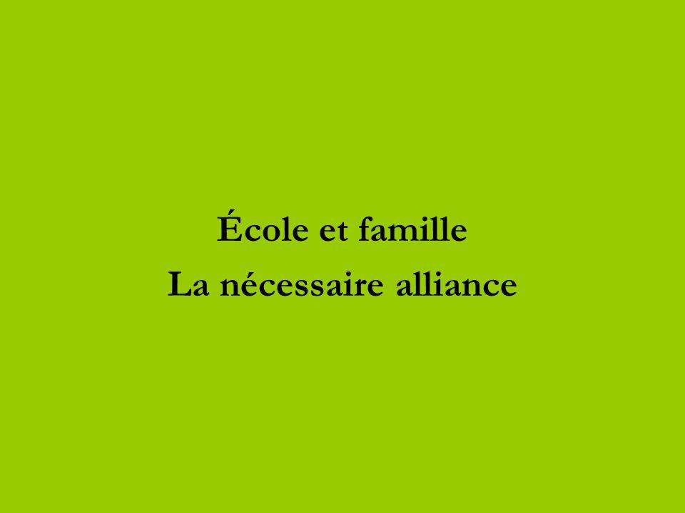 La nécessaire alliance