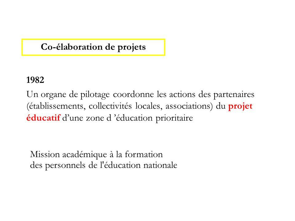 Co-élaboration de projets