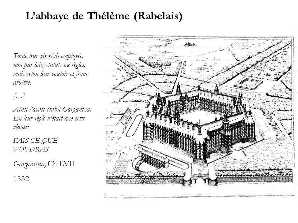 L'abbaye de Thélème (Rabelais)