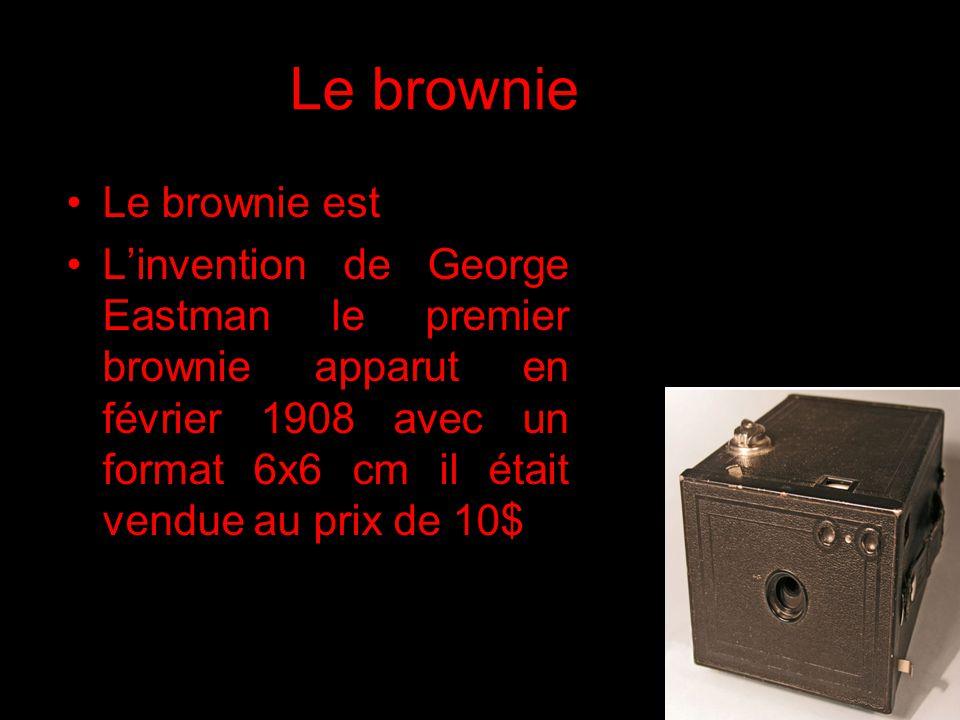 Le brownie Le brownie est