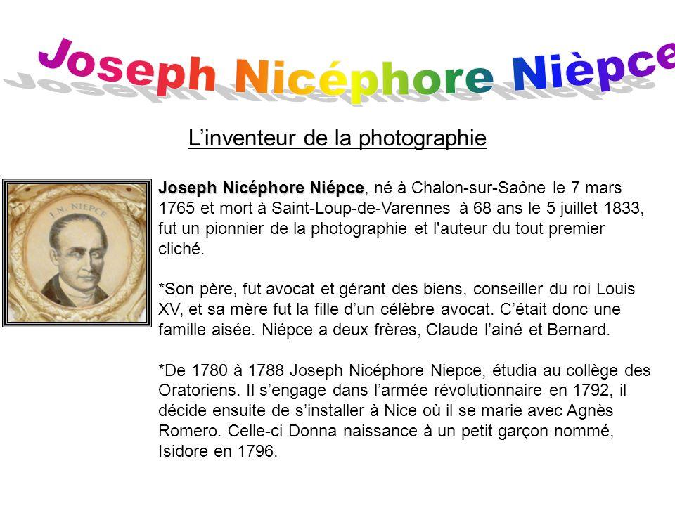 Joseph Nicéphore Nièpce