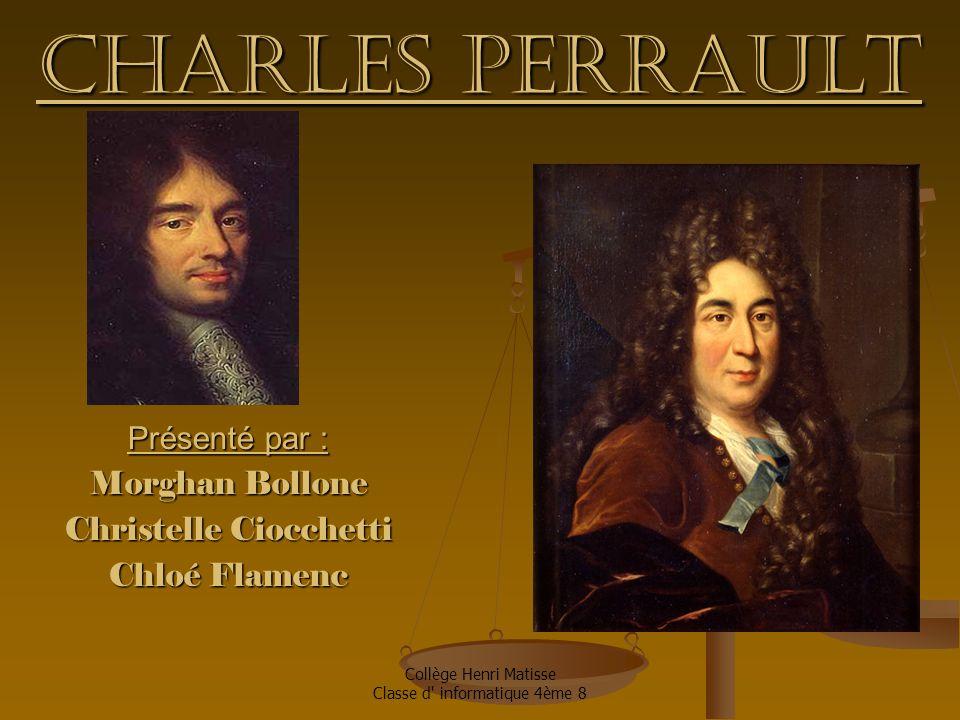 Présenté par : Morghan Bollone Christelle Ciocchetti Chloé Flamenc