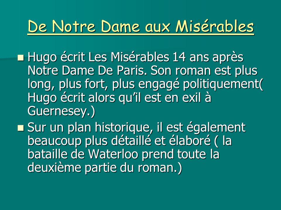 De Notre Dame aux Misérables