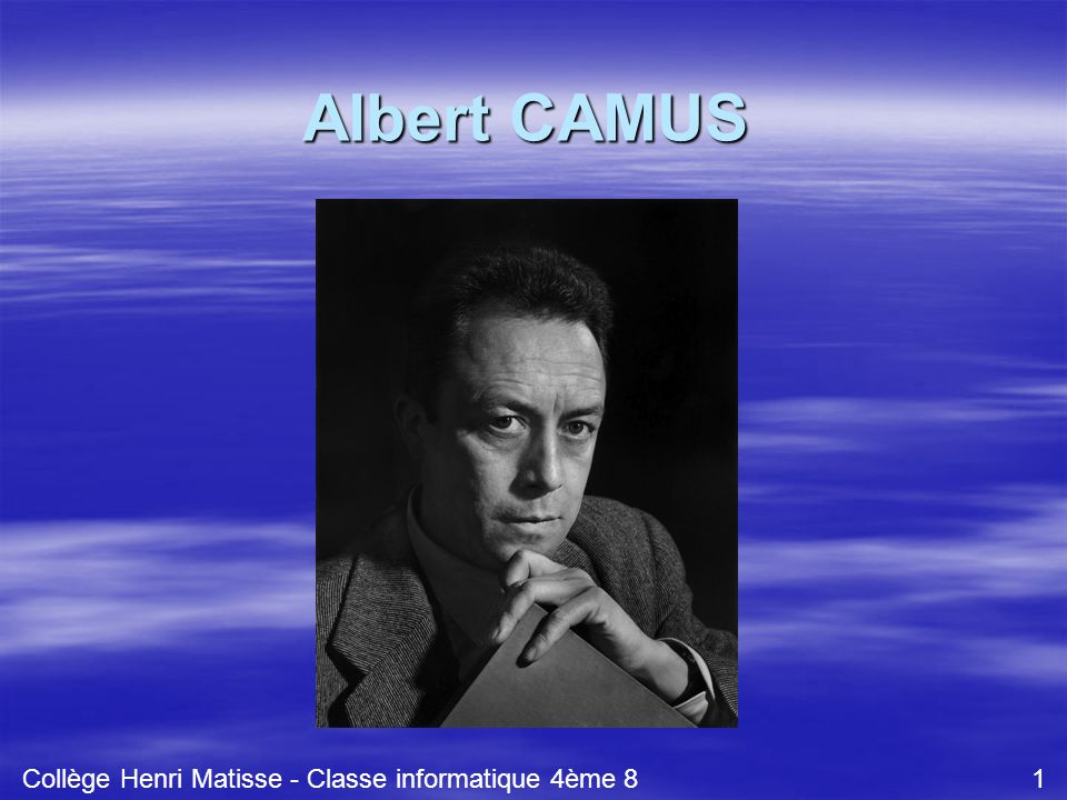 Collège Henri Matisse - Classe informatique 4ème 8 1