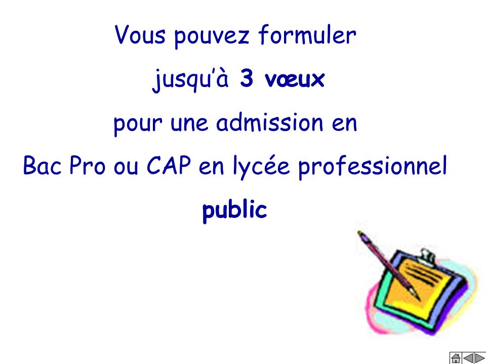Bac Pro ou CAP en lycée professionnel public