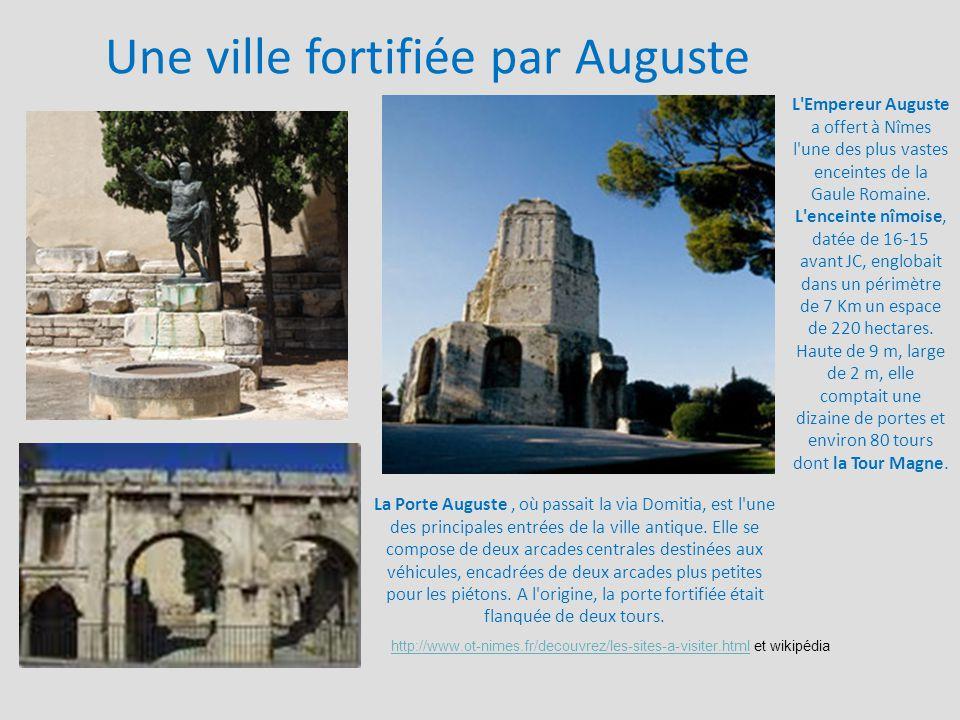 Une ville fortifiée par Auguste