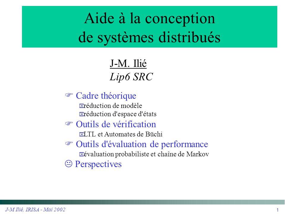 Aide à la conception de systèmes distribués