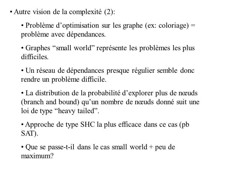 Autre vision de la complexité (2):