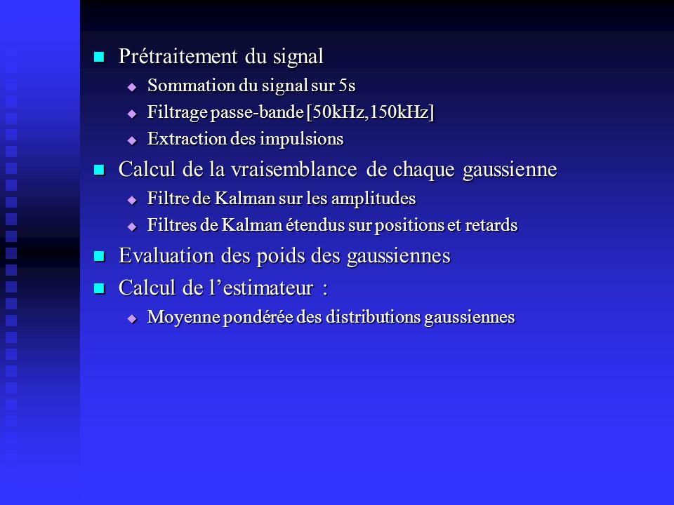 Prétraitement du signal