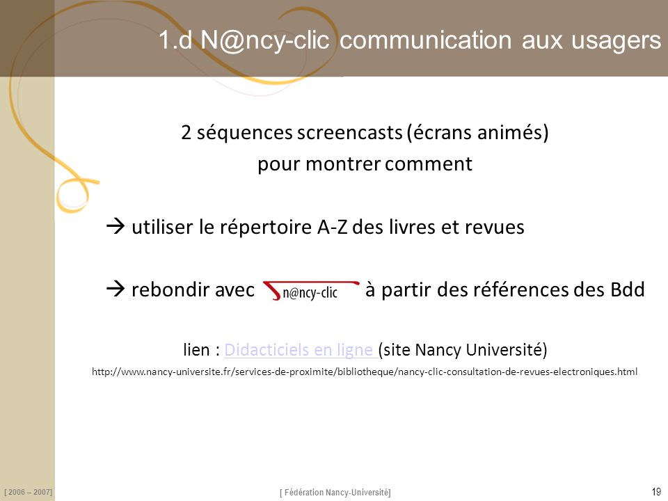 1.d N@ncy-clic communication aux usagers