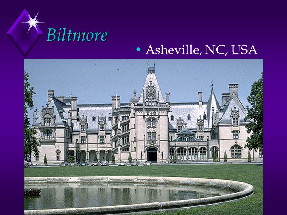 Biltmore Asheville, NC, USA