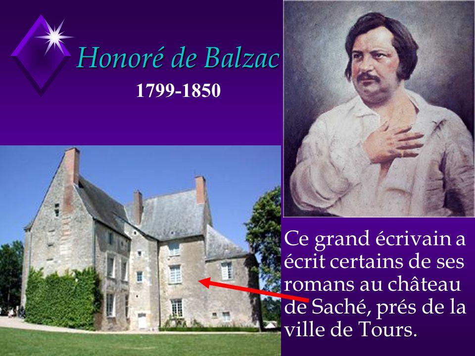 Honoré de Balzac 1799-1850.