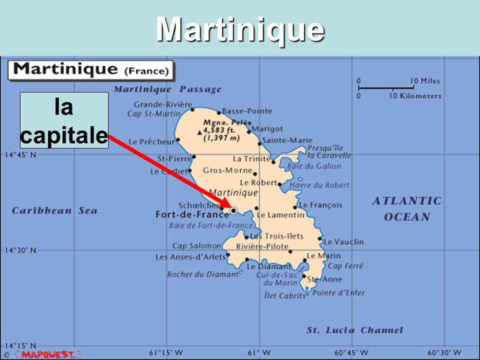 Martinique la capitale