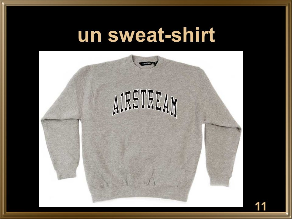 un sweat-shirt
