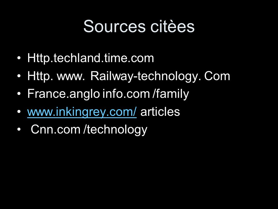 Sources citèes Http.techland.time.com