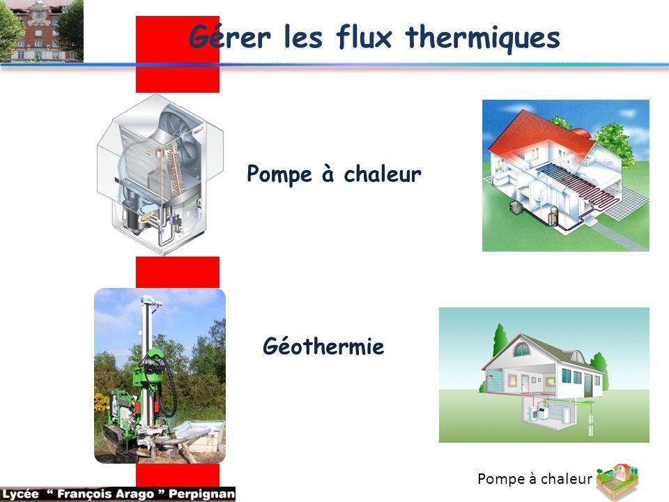 Gérer les flux thermiques