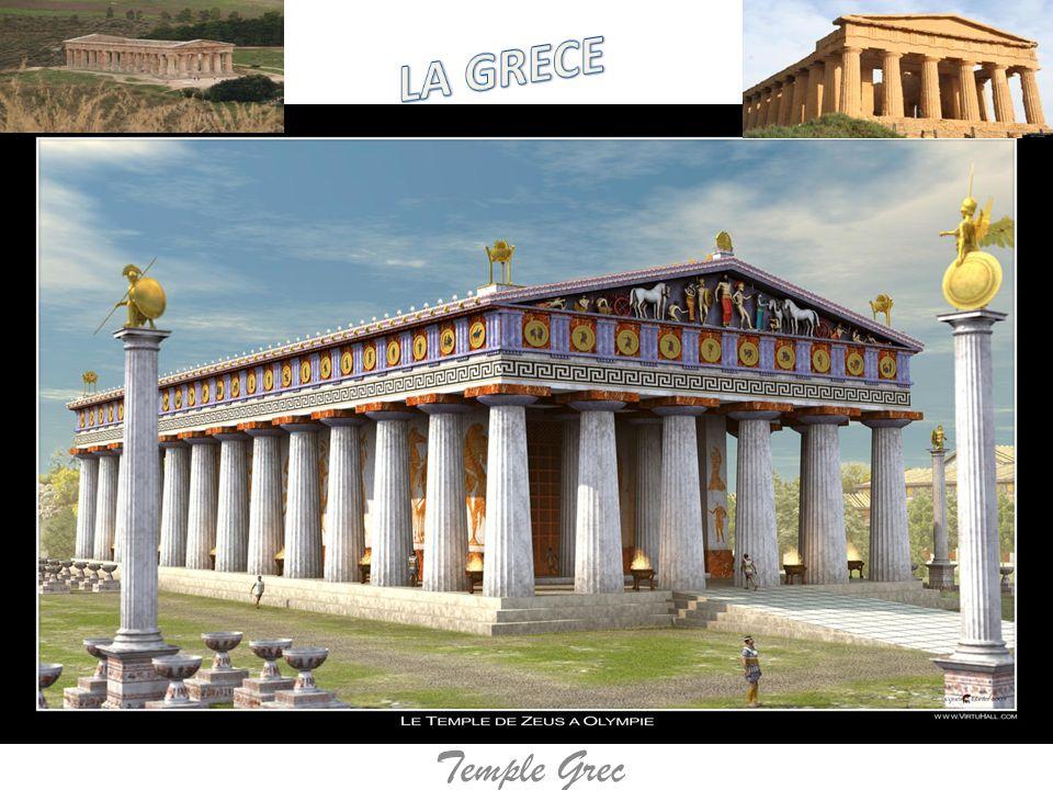 LA GRECE Temple Grec