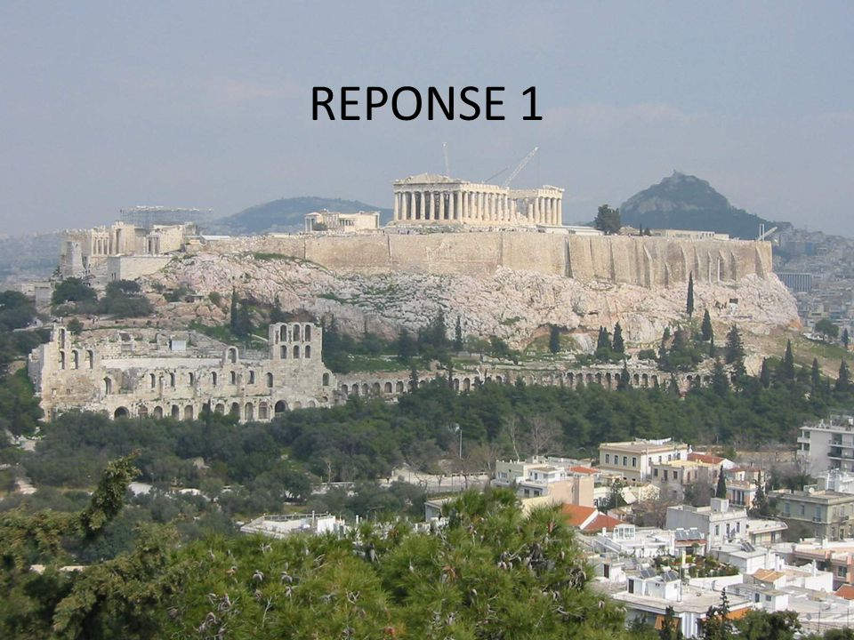 REPONSE 1