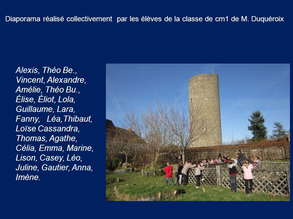 Diaporama réalisé collectivement par les élèves de la classe de cm1 de M. Duquéroix