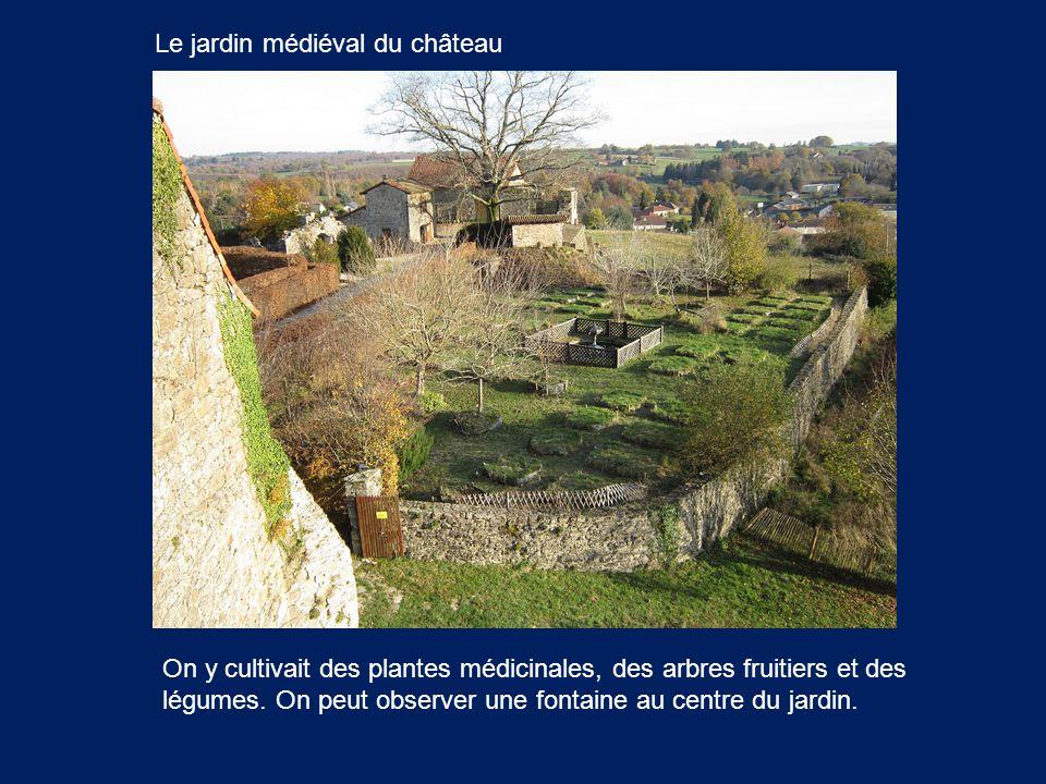 Le jardin médiéval du château
