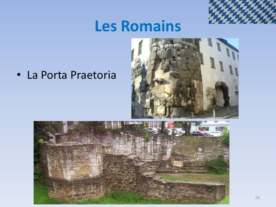 Les Romains La Porta Praetoria