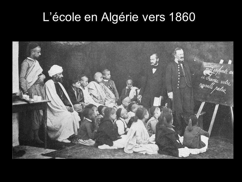 L'école en Algérie vers 1860