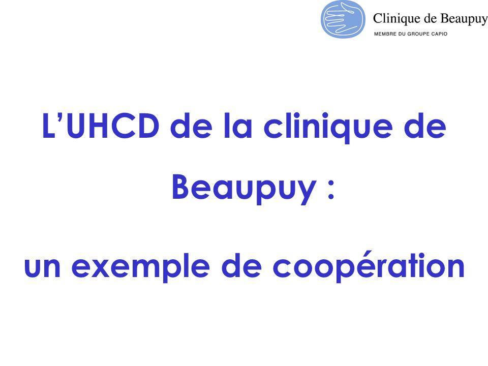 L'UHCD de la clinique de Beaupuy : un exemple de coopération