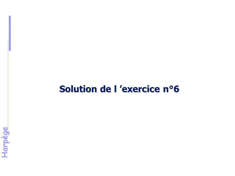 Solution de l 'exercice n°6