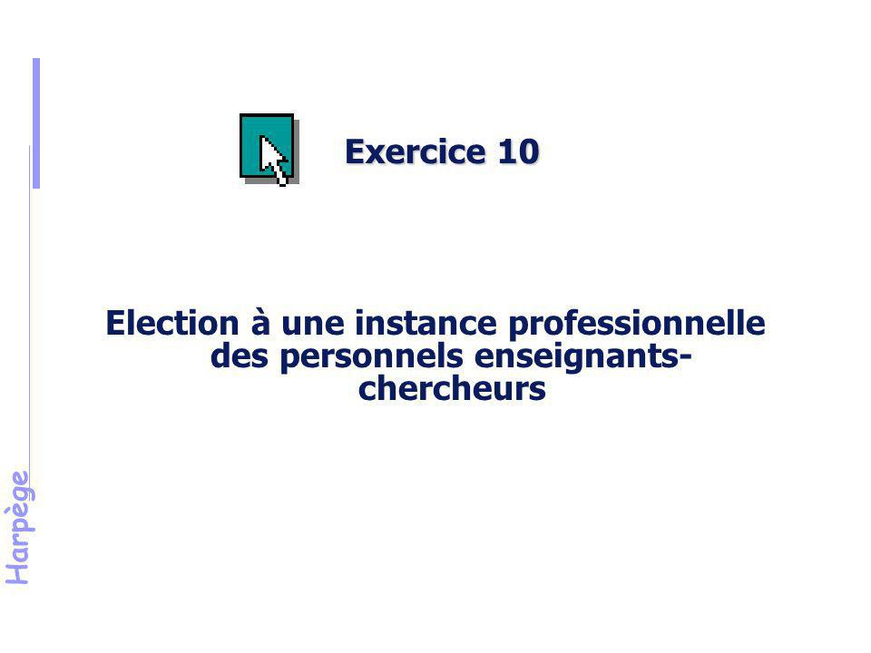 Exercice 10 Objectif.