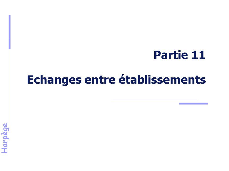 Partie 11 Echanges entre établissements