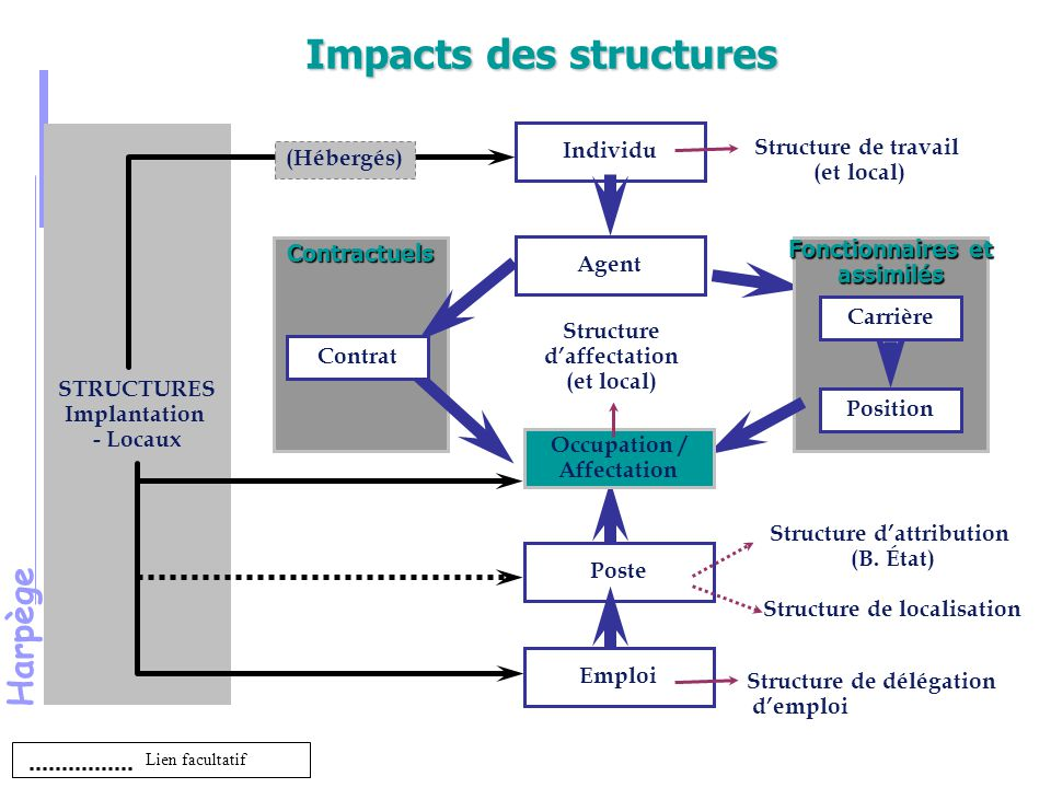 Impacts des structures