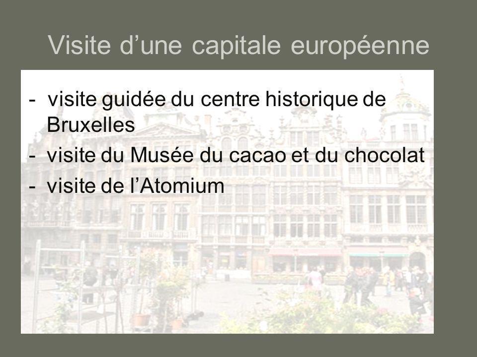 Visite d'une capitale européenne
