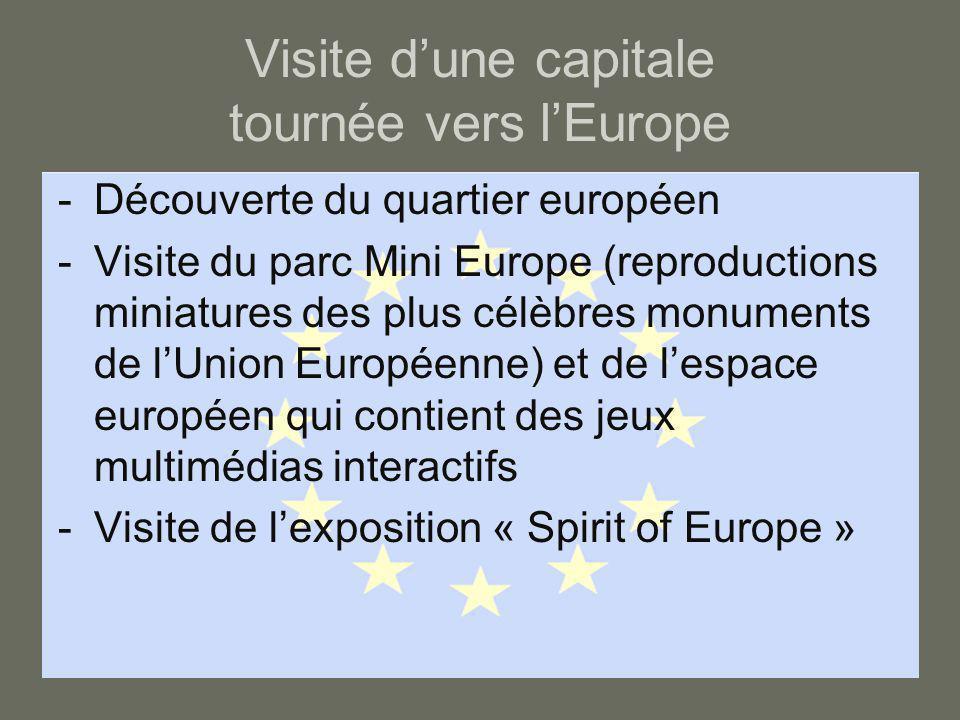 Visite d'une capitale tournée vers l'Europe