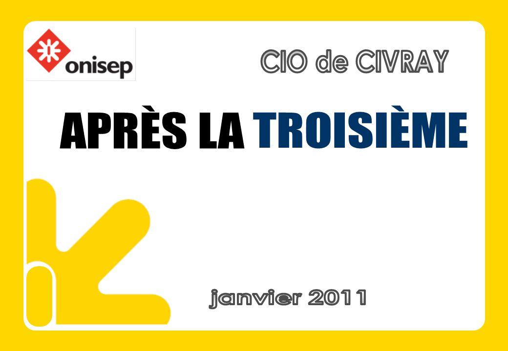 CIO de CIVRAY APRÈS LA TROISIÈME janvier 2011