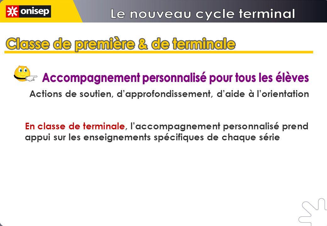Le nouveau cycle terminal