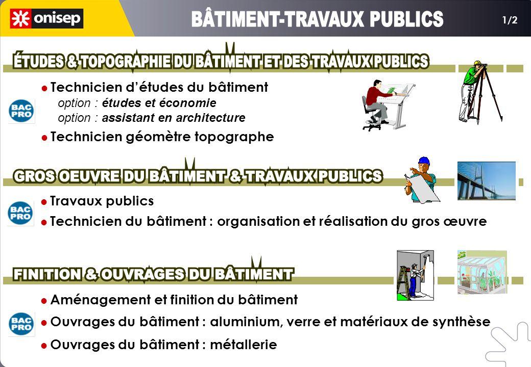 BÂTIMENT-TRAVAUX PUBLICS