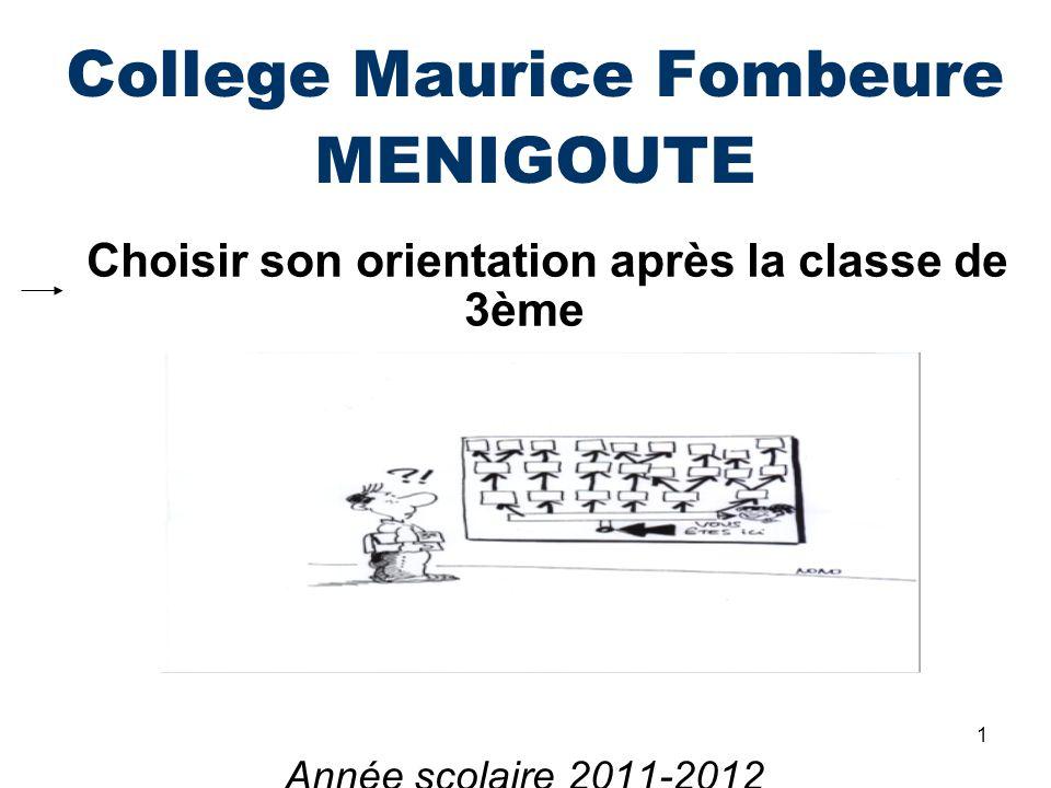College Maurice Fombeure MENIGOUTE