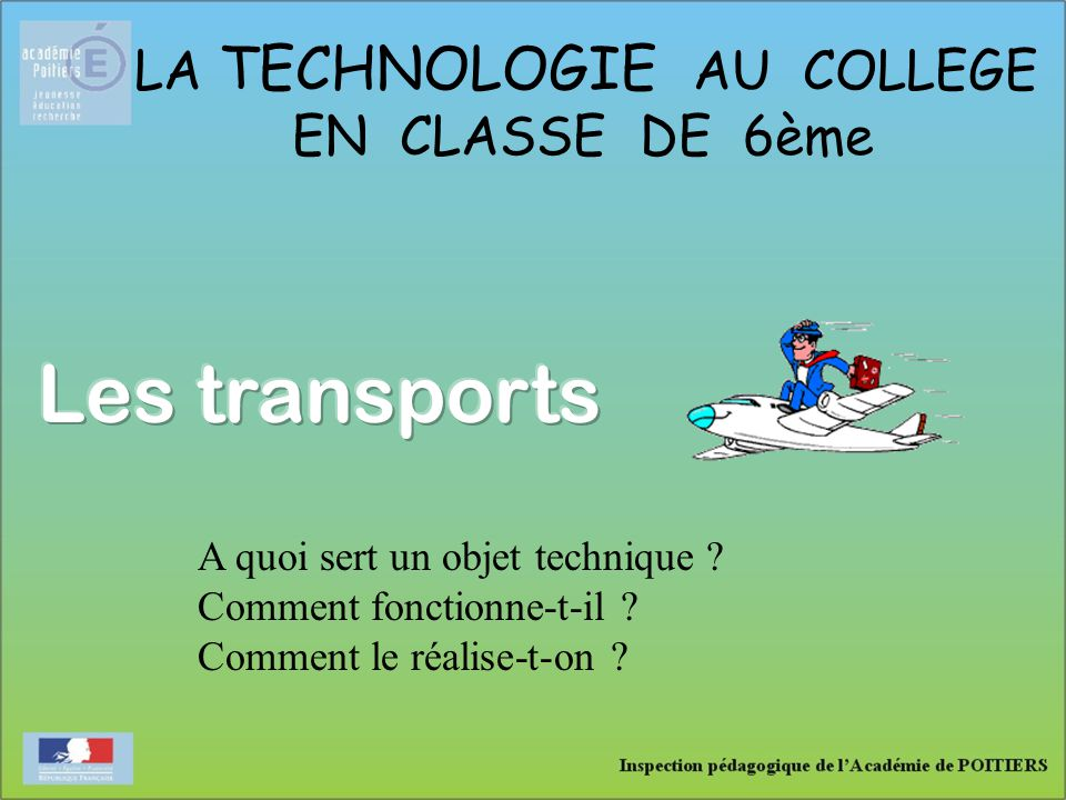 LA TECHNOLOGIE AU COLLEGE